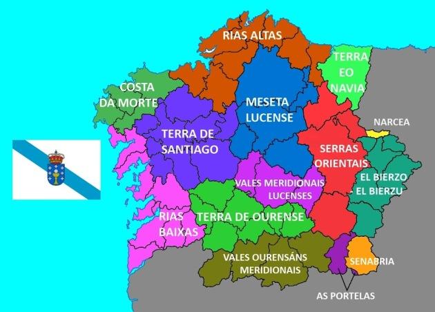 galiza-regiones