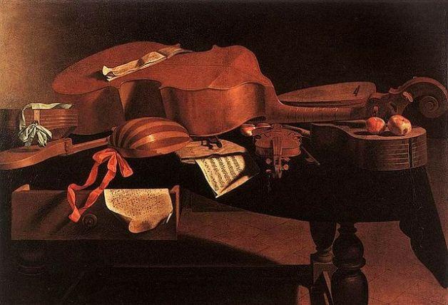 evaristo-baschenis-instrumentos-musicales-siglo-xvii