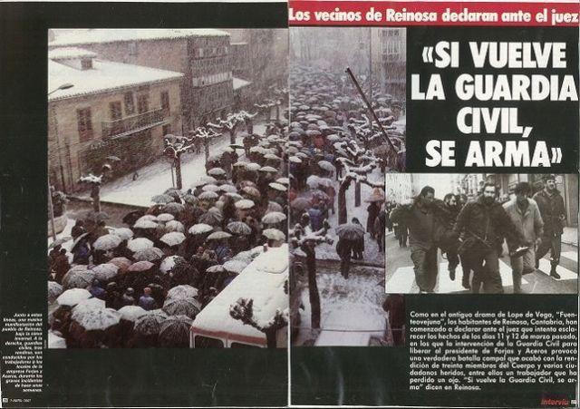 Reportaje de la revista Interviú