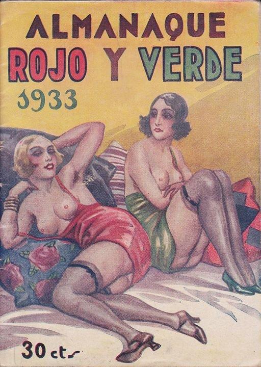 1933 Rojo y verde