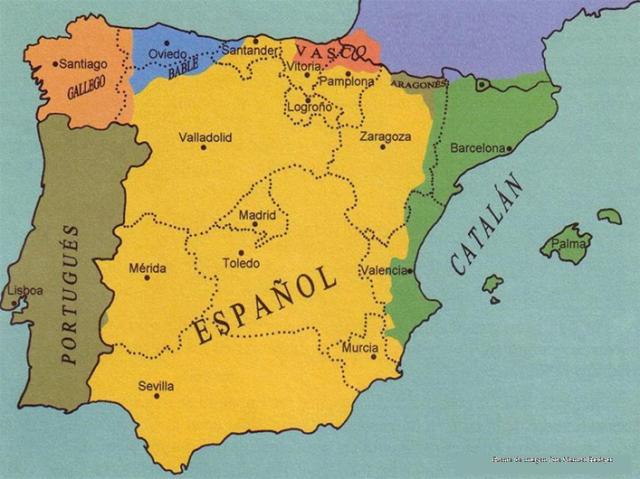 mapa lenguas españa 2