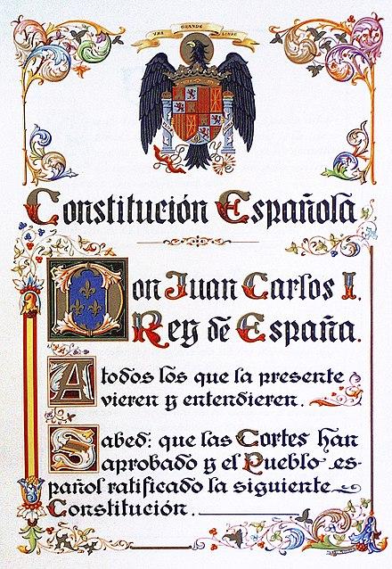 Constitución_Española_de_1978- original 1978