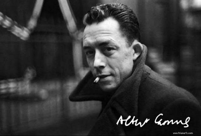 Albert Camus - Henri Cartier-Bresson -